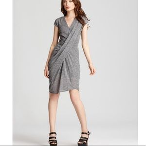 Rebecca Taylor Textured Drape Dress Sm